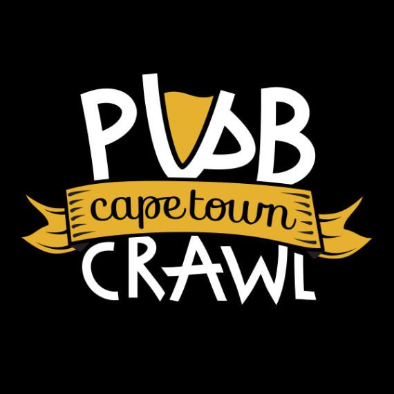 Cape Town Pub Crawl, logo design by Kruger van Deventer