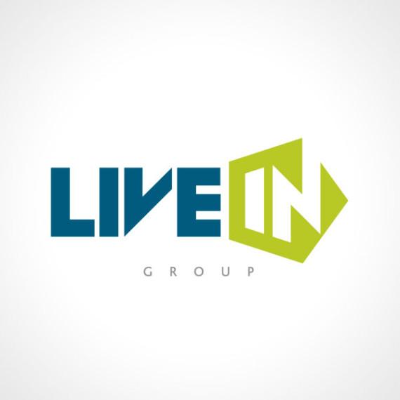 Live In Group, Logo design by Kruger van Deventer