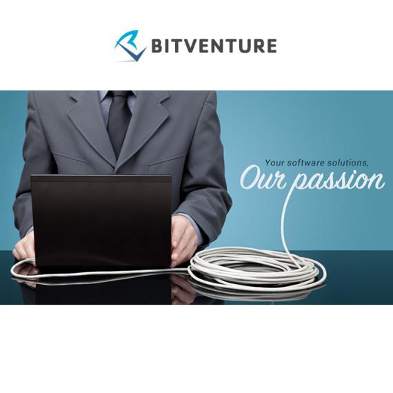 Bitventure, Web design by Kruger van Deventer