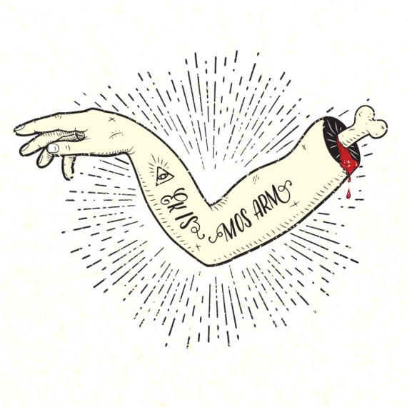 Ek is mos arm, illustrated by Kruger van Deventer