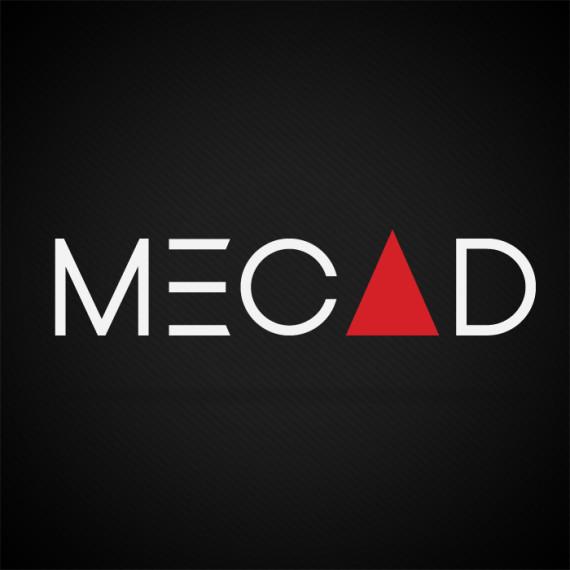 Mecad, Corporate Identity design by Kruger van Deventer